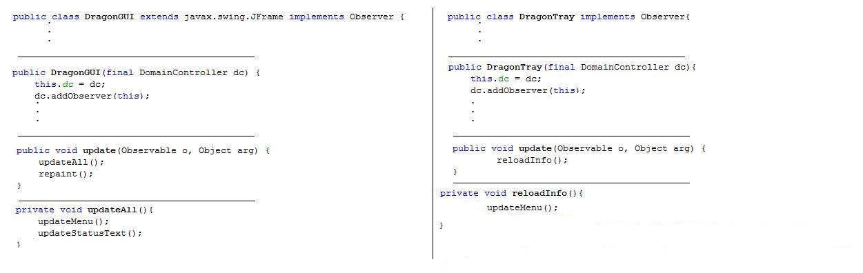 Observer GUI Class
